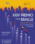 Locandina XXIV Premio Louis Braille
