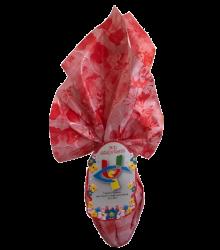 uovo solidale di cioccolato fondente
